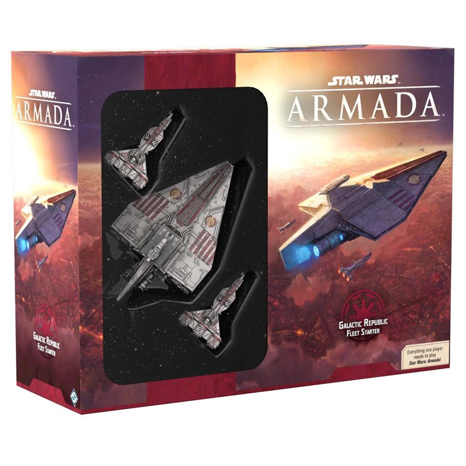 STAR WARS : ARMADA -  GALACTIC REPUBLIC FLEET STARTER (ENGLISH)
