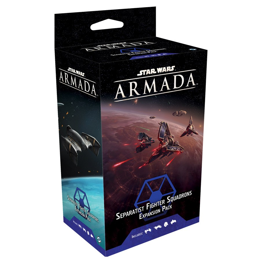 STAR WARS : ARMADA -  SEPARATIST FIGHTER SQUADRONS (ENGLISH)