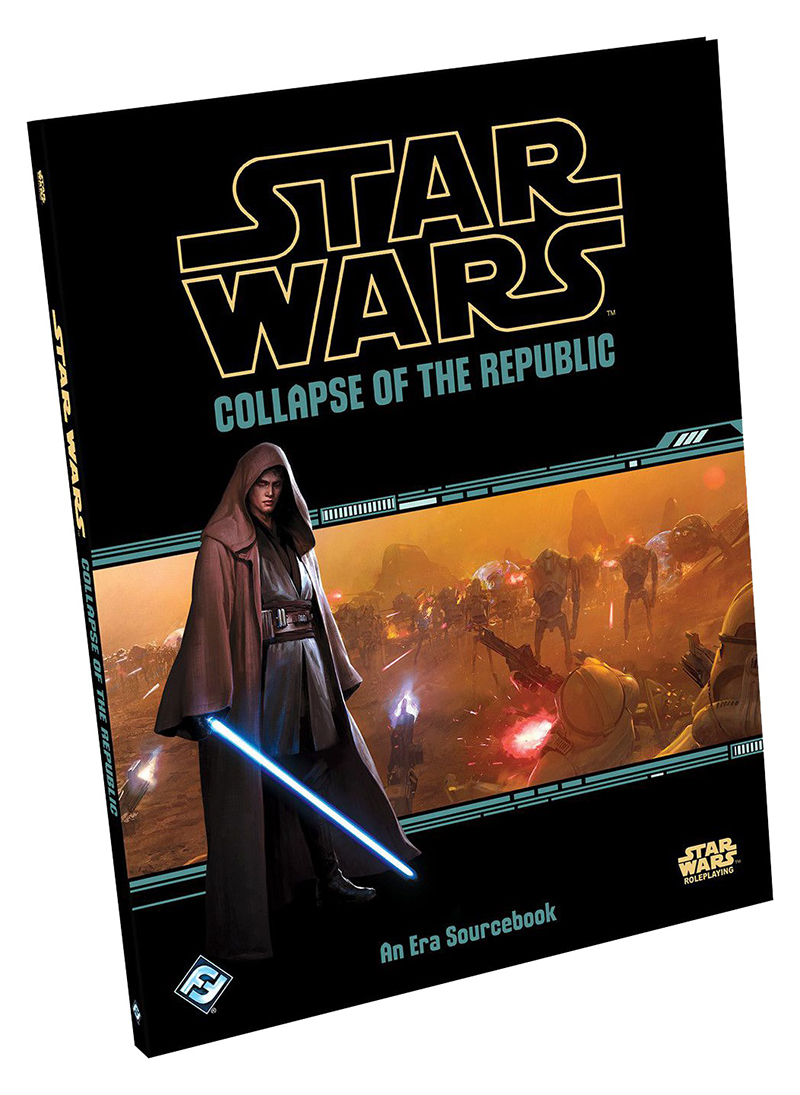 STAR WARS -  COLLAPSE OF THE REPUBLIC (ENGLISH) -  STAR WARS RPG