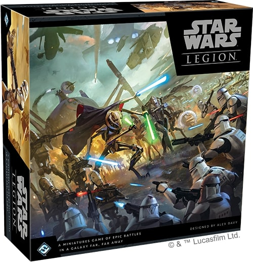 STAR WARS : LEGION -  BASE GAME (ENGLISH) -  CLONE WARS