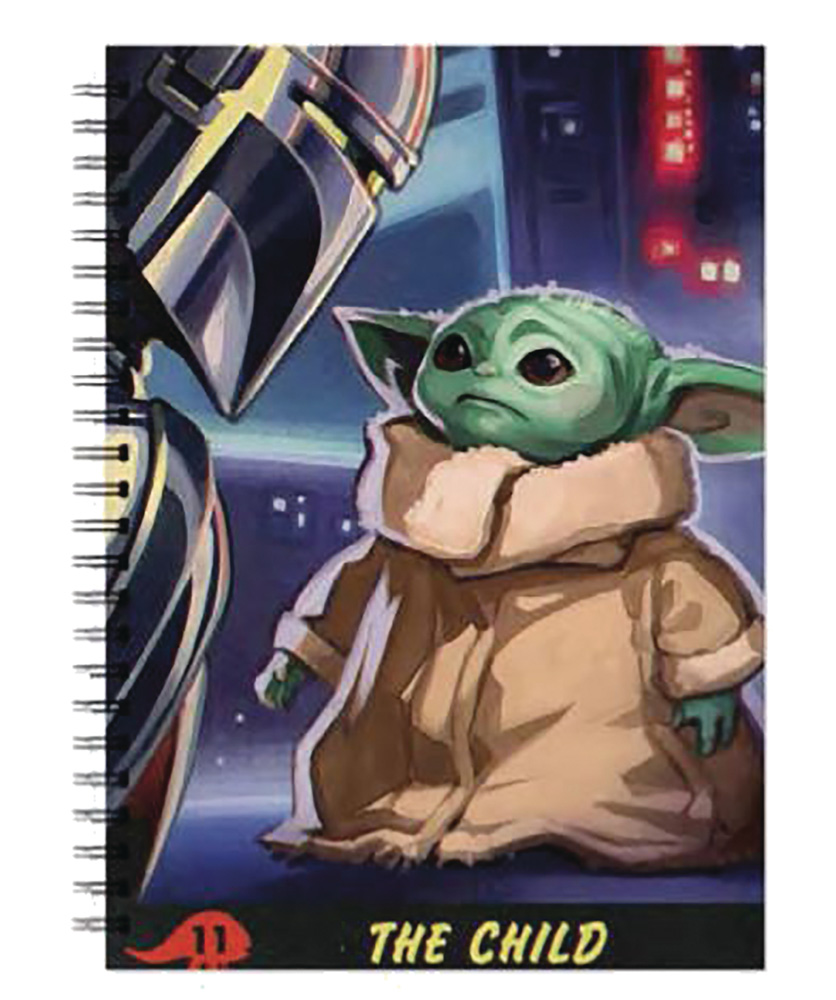 STAR WARS: THE MANDALORIAN -  SPIRAL NOTEBOOK -  THE CHILD