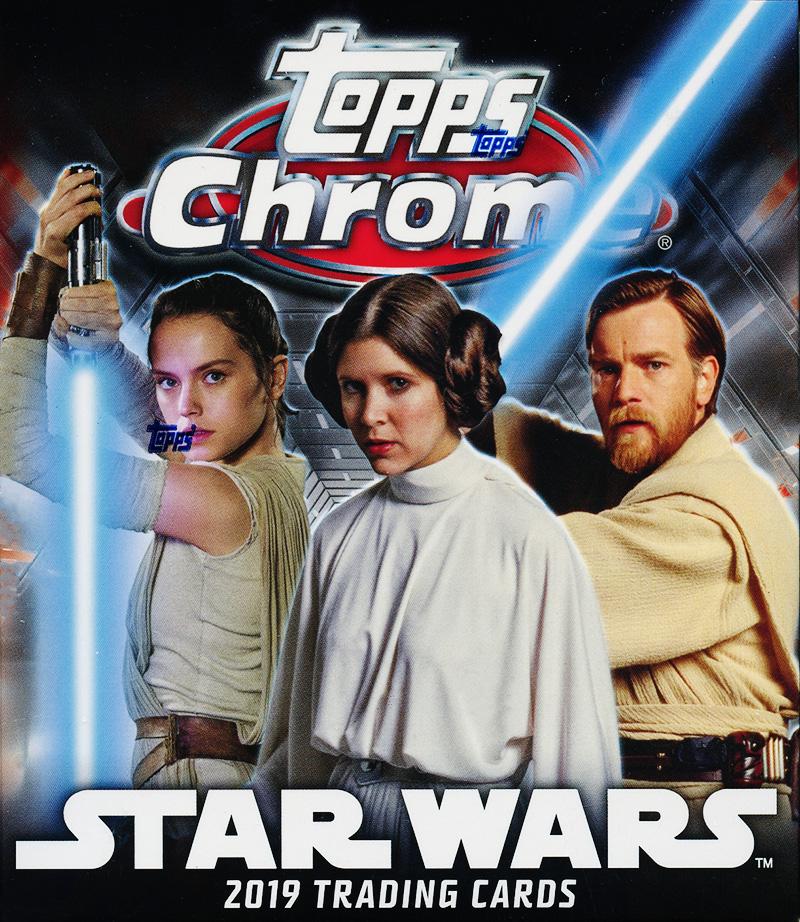 STAR WARS -  TOPPS CHROME LEGACY 2019 (P5/B6)