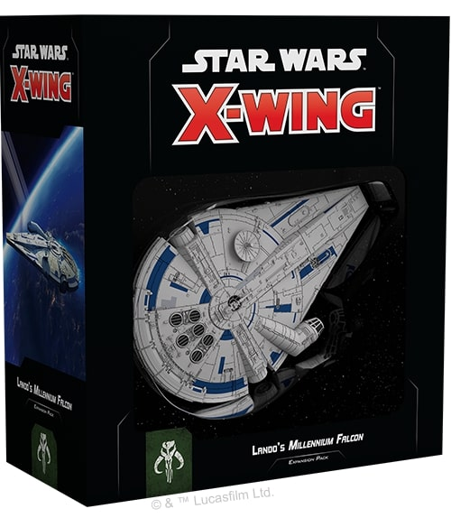 STAR WARS : X-WING 2.0 -  LANDO'S MILLENNIUM FALCON (ENGLISH)
