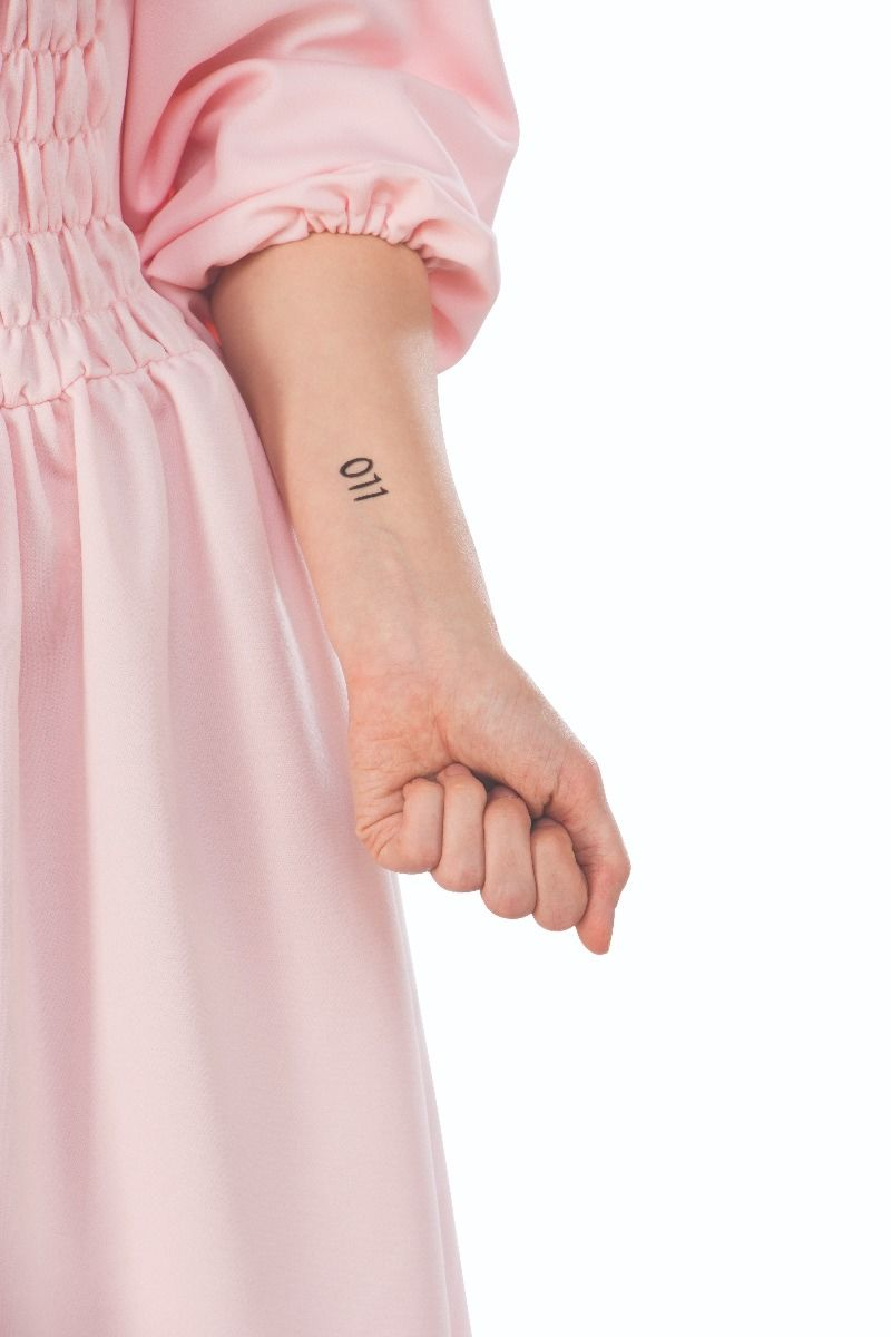 STRANGER THINGS   TEMPORARY TATOO   ELEVEN / ACCESSORIES / TEMPORARY TATTOOS