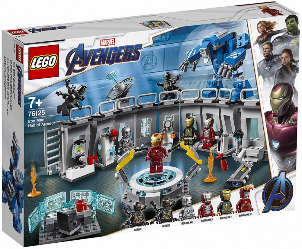 SUPER HEROES -  IRON MAN HALL OF ARMOR (524 PIECES) 76125