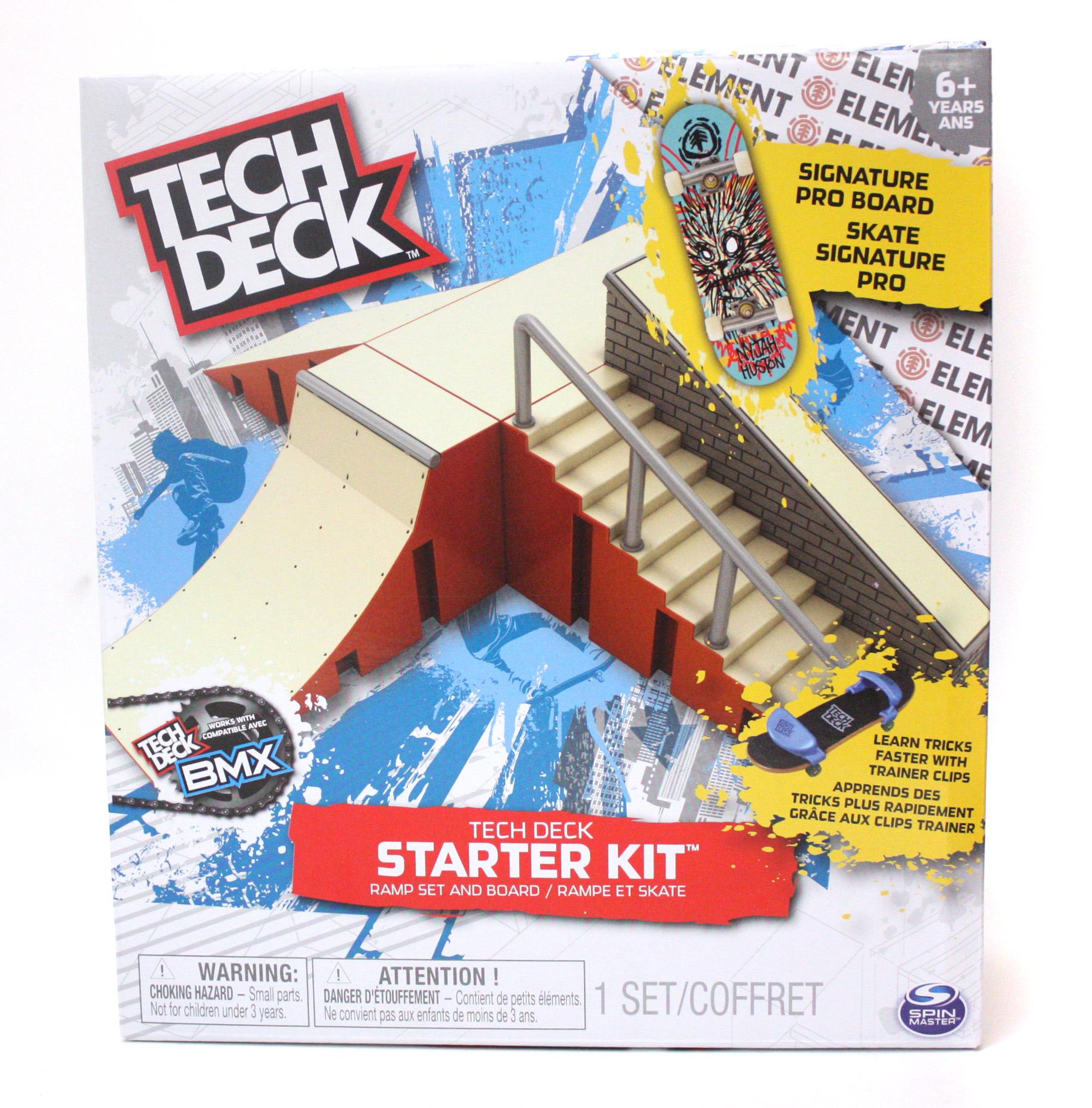 TECH DECK -  TECH DECK - RAMP SET AND BOARD 2 3