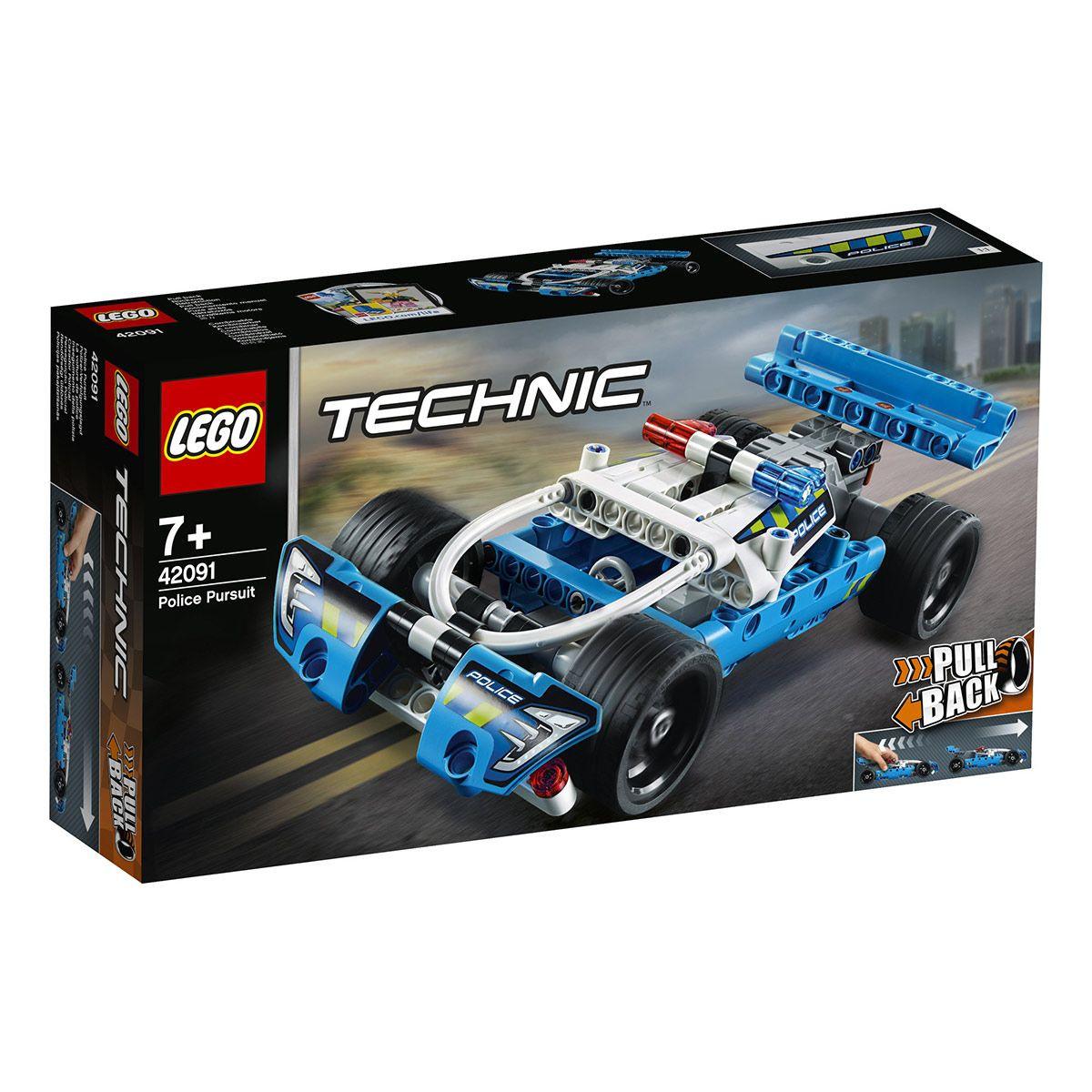 TECHNIC -  POLICE PURSUIT (120 PIECES) 42091