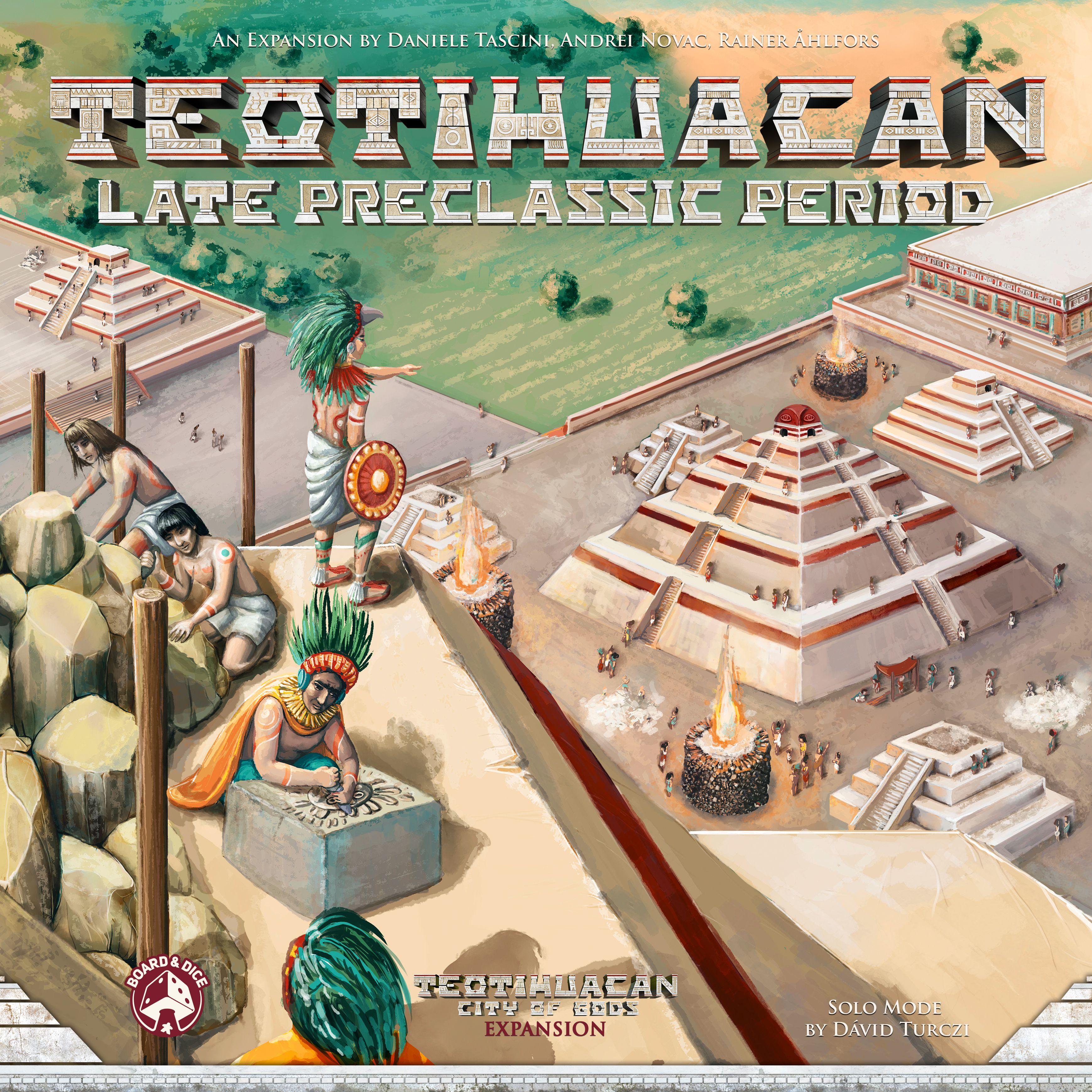 TEOTIHUACAN -  LATE PRECLASSIC PERIOD (ENGLISH)