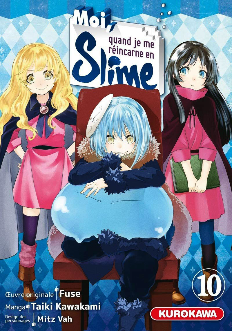 THAT TIME I GOT REINCARNATED AS A SLIME -  (FRENCH V.) 10