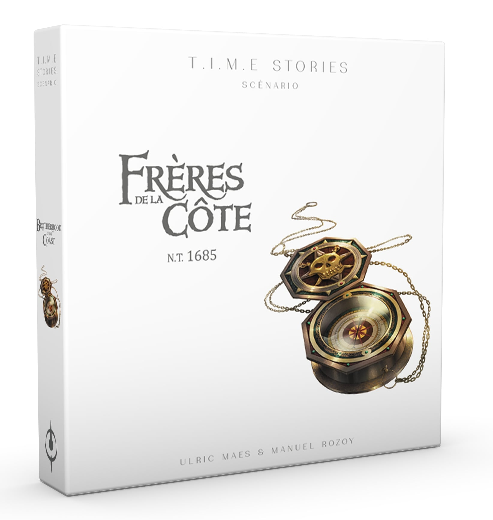 TIME STORIES -  LES FRÈRES DE LA CÔTE (FRENCH)