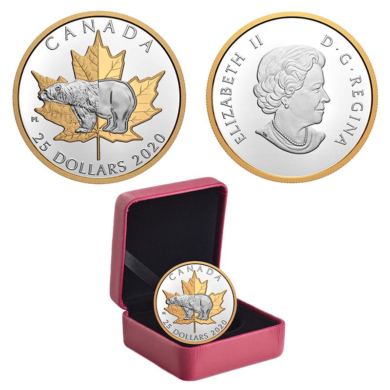TIMELESS ICONS -  POLAR BEAR -  2020 CANADIAN COINS 04