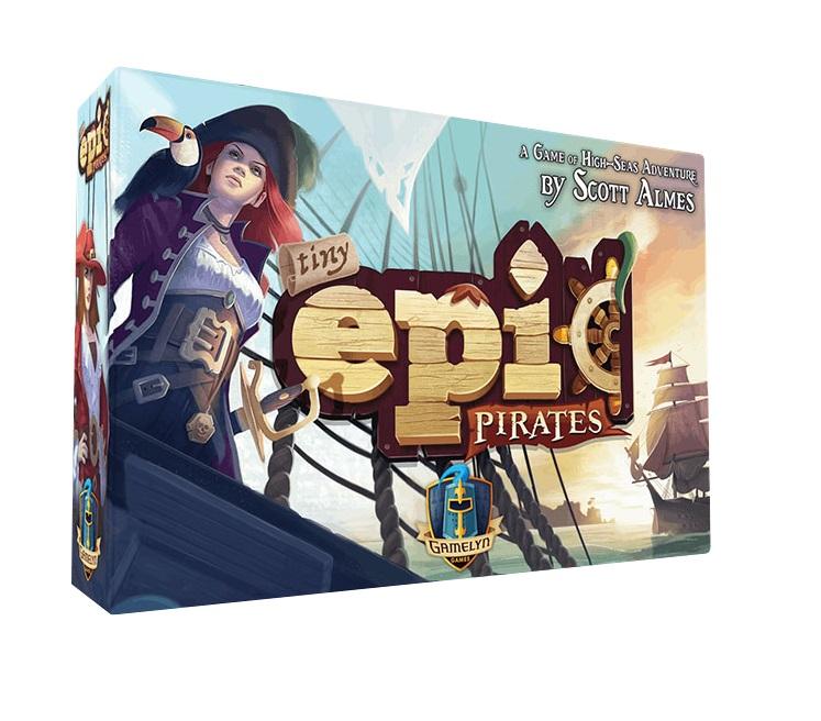 TINY EPIC PIRATES -  BASE GAME (FRENCH)