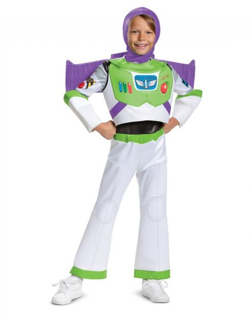 TOY STORY -  BUZZ LIGHTYEAR DELUXE COSTUME (CHILD) -  TOY STORY 4