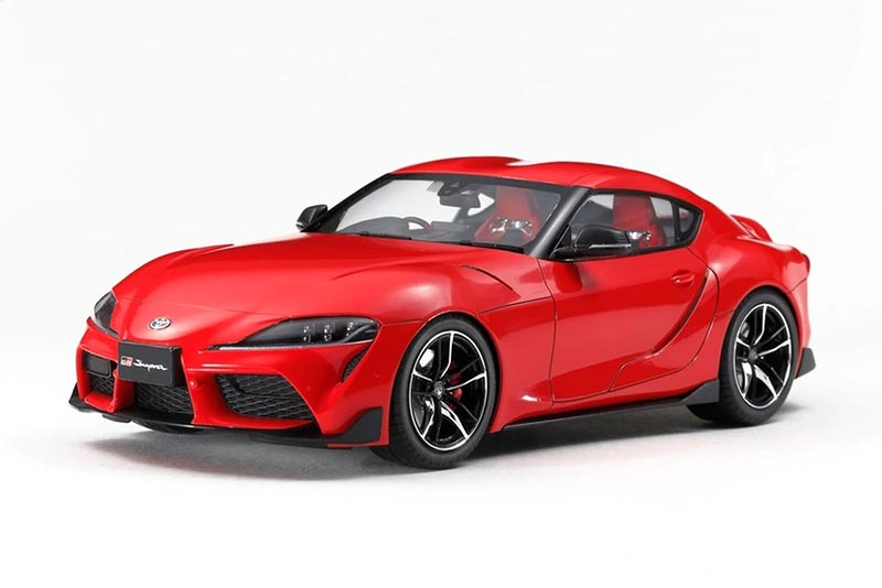 Toyota 2020 Gr Supra 1 24 Challenging Model Kits Cars