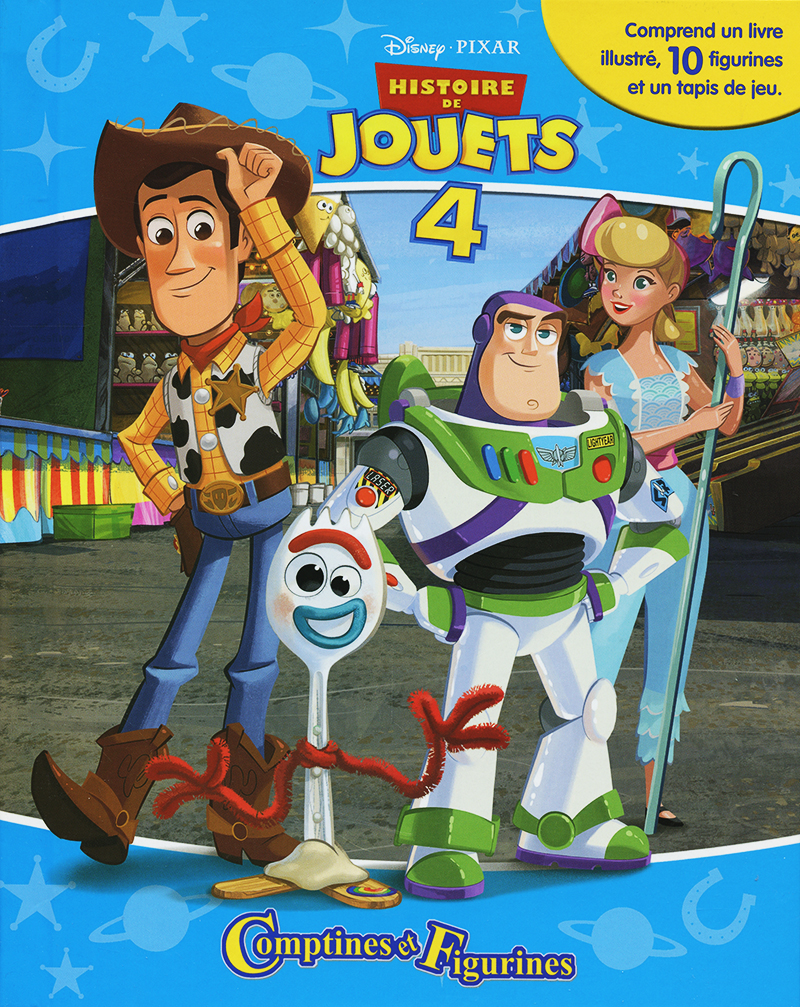 TOYS STORY -  COMPTINES ET FIGURINES -  TOYS STORY 4