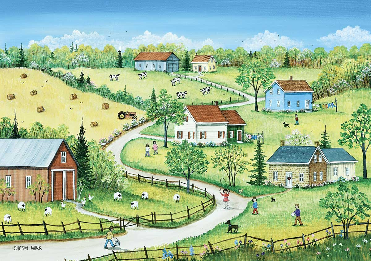 TREFL -  COUNTRY SUMMER (500 PIECES)