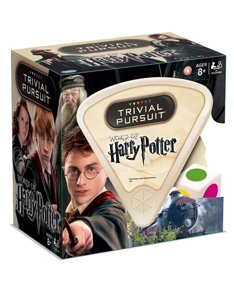 TRIVIAL PURSUIT -  WORLD OF HARRY POTTER (ENGLISH)
