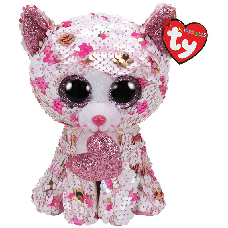 TY FLIPPABLES -  CUPID THE CAT (10