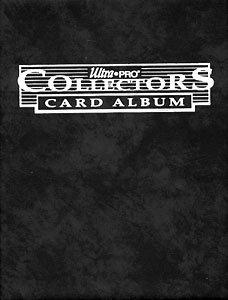 ULTRA PRO -  10-PAGE BLACK COLLECTORS PORTFOLIO FOR 90 CARDS