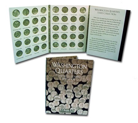 UNITED STATES -  HARRIS US QUARTER BOOKLET VOL.1 1999-2003 (STATE COLLECTION) 01
