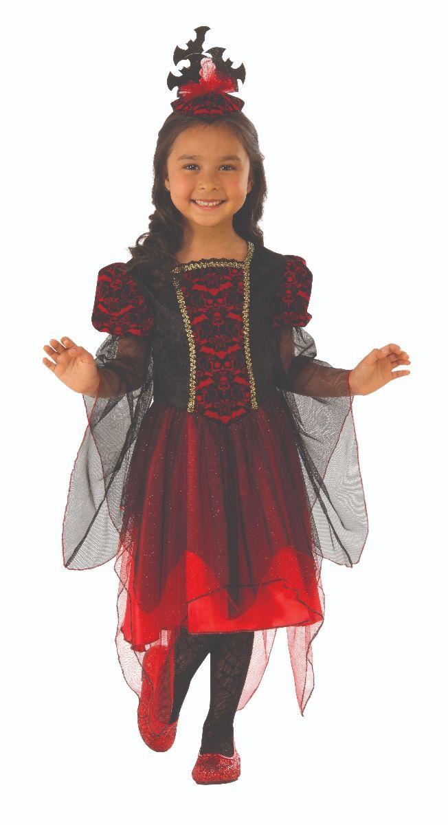 VAMPIRE -  BAT PRINCESS COSTUME (CHILD)