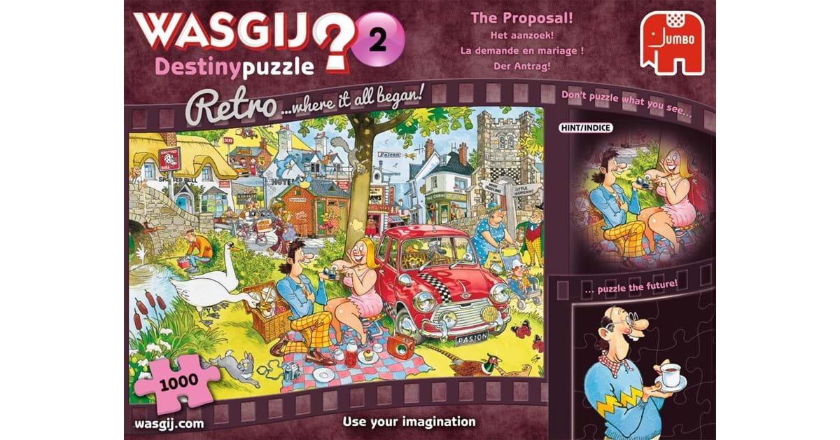 WASGIJ DESTINY -  THE PROPOSAL! (1000 PIECES) 2