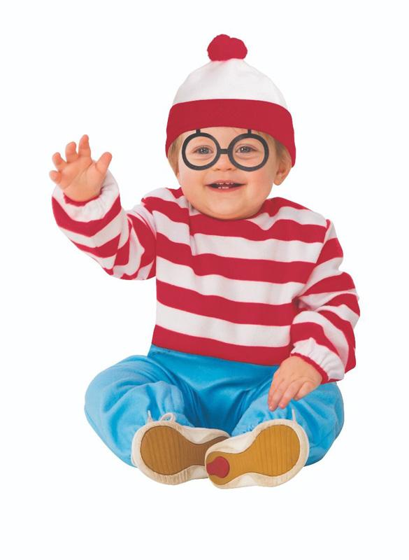 WHERE'S WALDO?   -  WALDO COSTUME (INFANT & TODDLER)