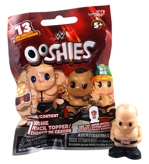 WWE -  OOSHIES PENCIL TOPPER
