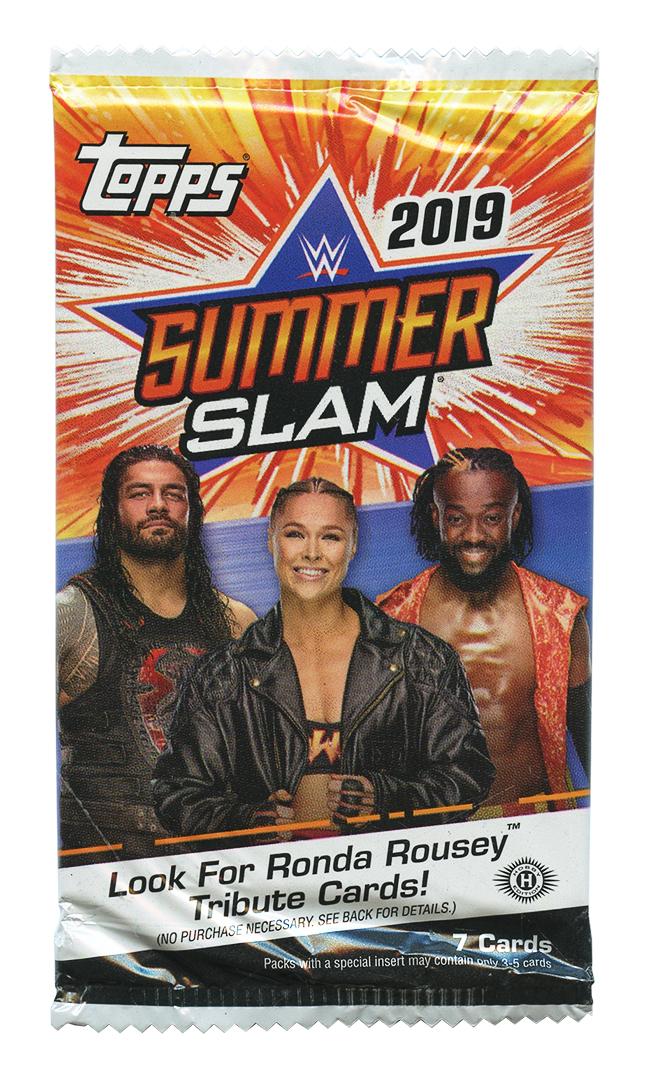 WWE -  TOPPS SUMMER SLAM 2019 (P7/B24)