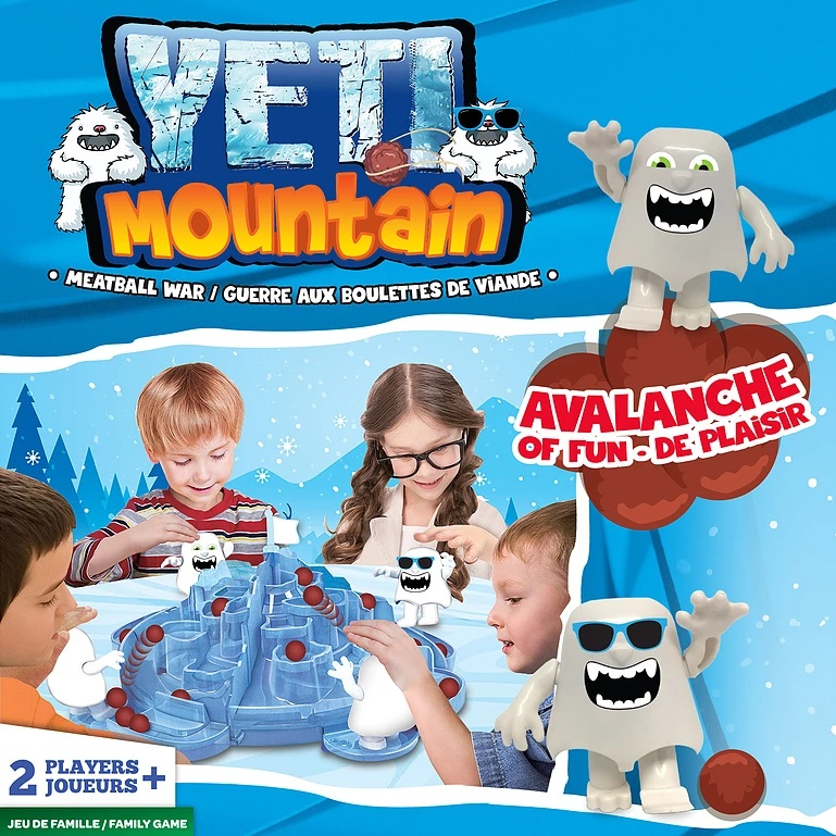 YETI MOUNTAIN (MULTILINGUAL)