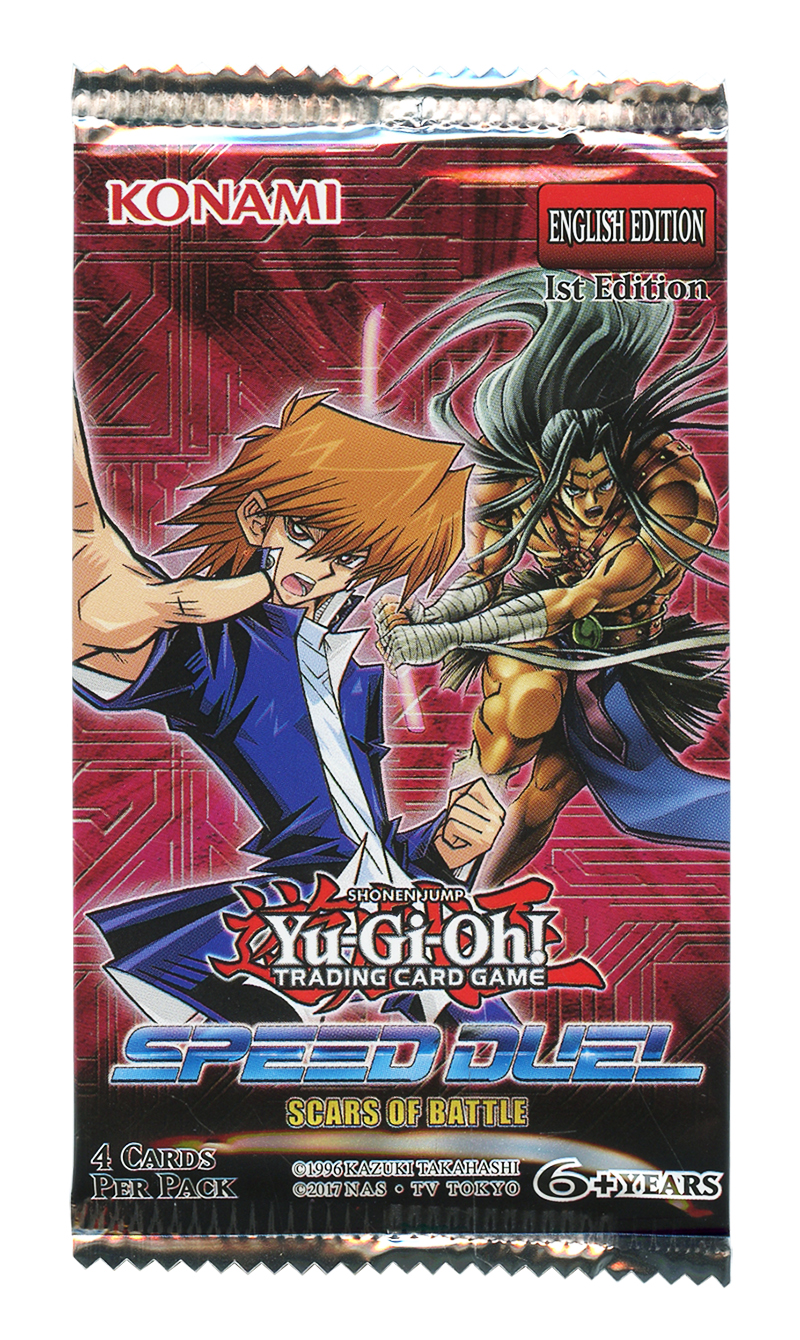 YU-GI-OH! -  SCARS OF BATTLE - BOOSTER PACK (P4/B36) -  SPEED DUEL