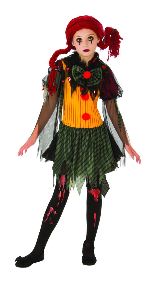 ZOMBIE -  ZOMBIE CLOWN COSTUME (CHILD)