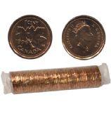1-CENT -  1996 1-CENT ORIGINAL ROLL -  1996 CANADIAN COINS