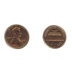 1-CENT -  2001 1-CENT -  2001 UNITED STATES COINS