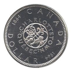 1-DOLLAR -  1964 1-DOLLAR - PROOF-LIKE (PL) -  1964 CANADIAN COINS