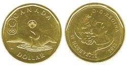 1-DOLLAR -  2012 1-DOLLAR - LUCKY LOONIE - BRILLIANT UNCIRCULATED (BU) -  2012 CANADIAN COINS 05