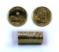 1-DOLLAR -  2018 CLASSIC 1-DOLLAR ORIGINAL ROLL -  2018 CANADIAN COINS