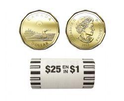 1-DOLLAR -  2019 CLASSIC 1-DOLLAR ORIGINAL ROLL -  2019 CANADIAN COINS
