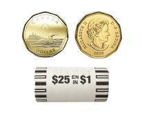 1-DOLLAR -  2020 CLASSIC 1-DOLLAR ORIGINAL ROLL -  2020 CANADIAN COINS