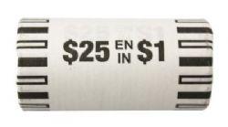 1-DOLLAR -  2021 CLASSIC 1-DOLLAR ORIGINAL ROLL -  2021 CANADIAN COINS