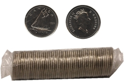 10-CENT -  1994 10-CENT ORIGINAL ROLL -  1994 CANADIAN COINS