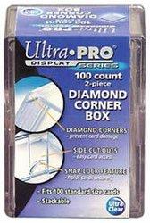 100 COUNTS 2 PIECES DIAMOND CORNER BOX ***LIMIT OF FIVE (5) PER CUSTOMER***