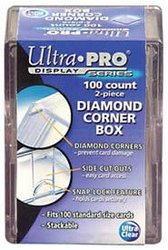 100 COUNTS 2 PIECES DIAMOND CORNER BOX