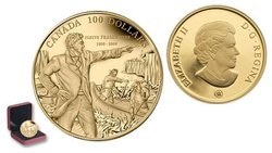 100 DOLLARS -  200TH ANNIVERSARY OF DESCENDING THE FRASER RIVER -  2008 CANADIAN COINS 33