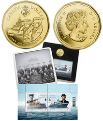 100TH ANNIVERSARY OF THE CANADIAN NAVY -  2010 CANADIAN COINS