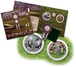 100TH ANNIVERSARY OF THE CANADIAN OPEN GOLF CHAMPIONSHIP -  2004 CANADIAN COINS