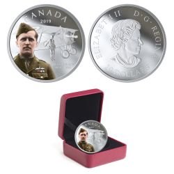 125TH ANNIVERSARY OF THE BIRTH OF BILLY BISHOP -  2019 CANADIAN COINS