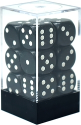 12D6, BLACK AND WHITE -  OPAQUE