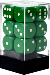 12D6, GREEN AND WHITE -  OPAQUE