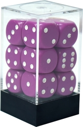 12D6, LIGHT PURPLE WITH WHITE -  OPAQUE